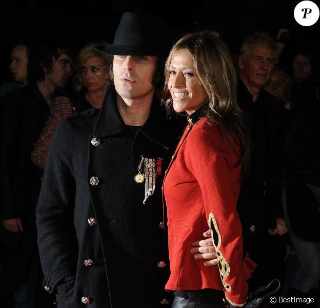 Nicole Appleton et Liam Gallagher à Londres, le 18 octobre 2012.