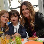 Sophie Thalmann et Sylvie Tellier en famille pour un goûter tout chocolat