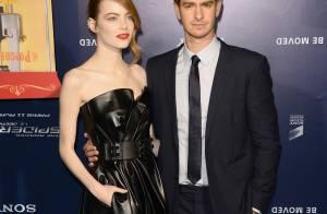 The Amazing Spider-Man 2 à Paris : Emma Stone en cuir, son chéri acclamé
