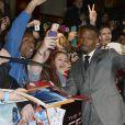 Jamie Foxx lors de l'avant-première du film The Amazing Spider-Man 2: Le Destin d'un Héros à Paris, le 11 avril 2014.