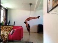 Les Anges de la télé-réalité 6 - Shanna : Ses séances de pole dance sensuelles !