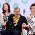 Sarah Lewis, Jerry Lewis et SanDee Pitnick honoré au TCL Chinese Theatre à Los Angeles, le 12 avril 2014.