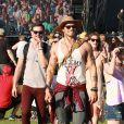 Kellan Lutz et Ashley Greene lors du 1er jour du Festival de Coachella à Indio, le 11 avril 2014.