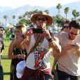 Kellan Lutz lors du 1er jour du Festival de Coachella à Indio, le 11 avril 2014.