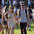 Ashley Greene avec son chéri lors du 1er jour du Festival de Coachella à Indio, le 11 avril 2014.