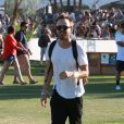 Aaron Paul lors du 1er jour du Festival de Coachella à Indio, le 11 avril 2014.