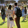 Ashley Greene lors du 1er jour du Festival de Coachella à Indio, le 11 avril 2014.