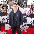 Nick Lachey sur le tapis rouge de la cérémonie des MTV Movie Awards à Los Angeles, le 13 avril 2014.