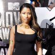 Nicki Minaj sur le tapis rouge de la cérémonie des MTV Movie Awards à Los Angeles, le 13 avril 2014.
