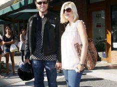 PHOTOS : Tori Spelling et son mari se moquent des paparazzi... et s'enfuient !