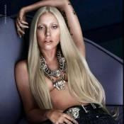 Lady Gaga, topless mais photoshopée pour Versace : Des clichés pas si glamour