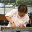 Noémie Honiat dans la finale de Top Chef 2014 le lundi 21 avril 2014 sur M6