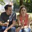 Marion Cotillard et Fabrizio Rongione dans le film Deux jours, une nuit