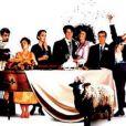 Affiche du film Quatre mariages et un enterrement