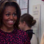 Michelle Obama : Amusée par Amy Poehler et touchée par une gamine audacieuse