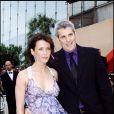 Sophie Marceau et Jim Lemley lors du Festival de Cannes 2006