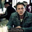 Daniel Craig, Barack Obama et les stars s'unissent pour dénoncer les agressions sexuelles. Avril 2014.