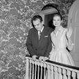 Le prince Rainier et la princesse Grace de Monaco à Philadelphie, le 6 janiver 1956.