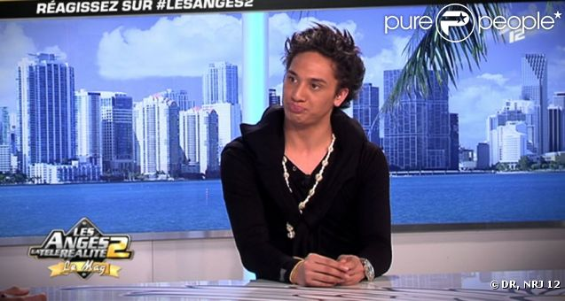 Flo'Ga sur le plateau des Anges de la télé-réalité - le Mag, le vendredi 17 juin 2011 sur NRJ 12.