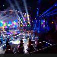 Jenifer, lors du prime time de The Voice 3 du samedi 3 mai 2014 (demi-finale).