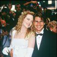 Nicole Kidman avec Tom Cruise le 14 décembre 1992.