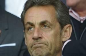 PSG champion : Nicolas Sarkozy, ses fils Jean et Pierre douchés par la défaite