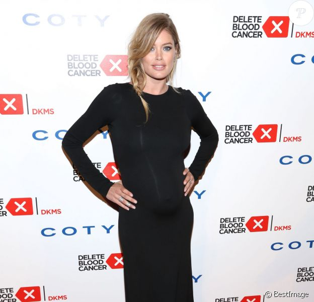 Doutzen Kroes - Delete Blood Cancer Gala au Cipriani Wall Street à New York. Le 7 mai 2014.