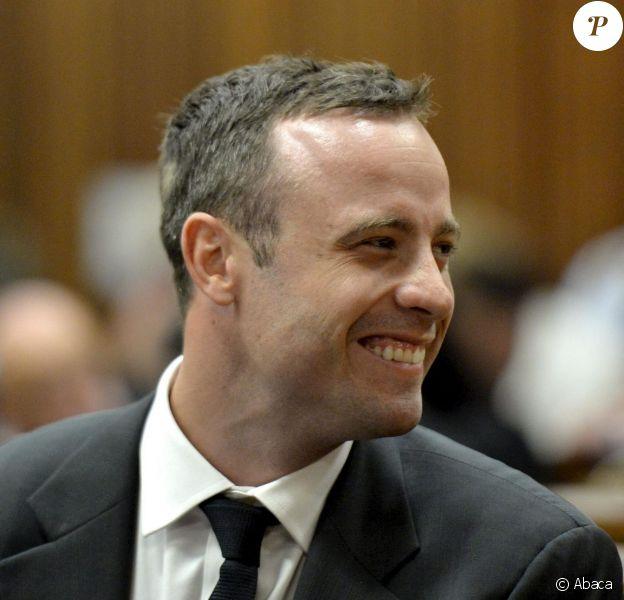 Oscar Pistorius devant la Haute cour de justice de Pretoria, le 3 mars 2014
