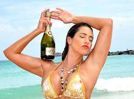 Jennifer Nicole Lee : Exquise en bikini et prête à sabrer le champagne