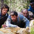 Lannick Gautry, Thomas VDB, Medi Sadoun et Cyril Gueï dans Les Francis