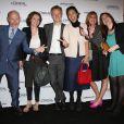 Jean-Paul Salomé, Isabelle Giordano et toute l'équipe UniFrance - Soirée du 65e anniversaire de UniFrance films avec L'Oréal à l'hôtel Martinez durant le 67e Festival du Film de Cannes le 15 mai 2014