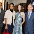 Pierre Lescure, Isabelle Giordano, Chiara Mastroianni et Jean-Paul Salomé - Soirée du 65e anniversaire de UniFrance films avec L'Oréal à l'hôtel Martinez durant le 67e Festival du Film de Cannes le 15 mai 2014
