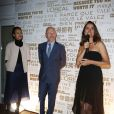 Isabelle Giordano, Jean-Paul Salomé et Aurélie Filipetti - Soirée du 65e anniversaire de UniFrance films avec L'Oréal à l'hôtel Martinez durant le 67e Festival du Film de Cannes le 15 mai 2014