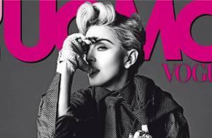 Madonna provocante et érotique : Seins nus pour L'Uomo Vogue