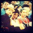 Madonna au côté d'Ingrid Casares et Debi Mazar dans les années 90.