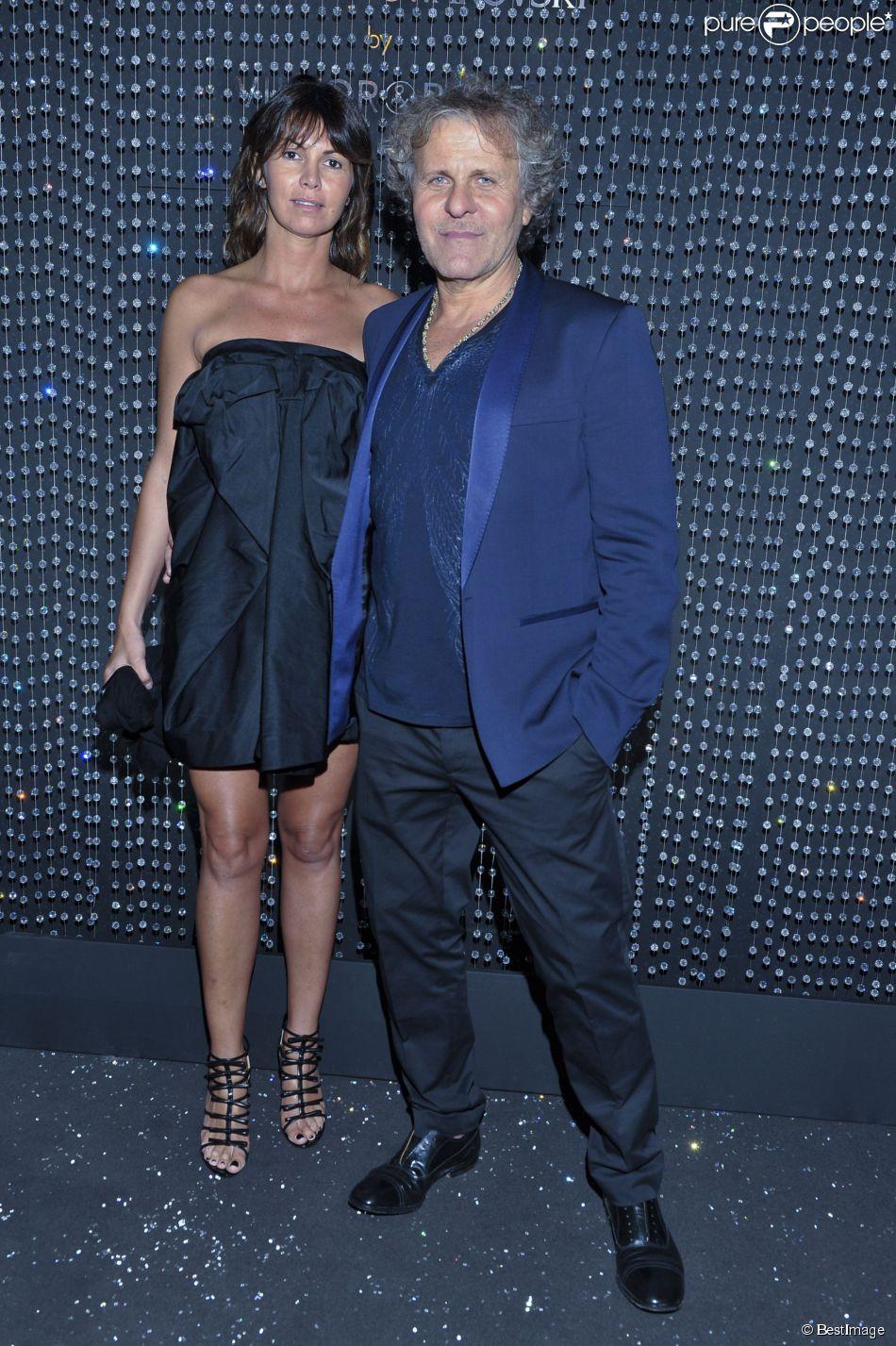 Renzo Rosso et Arianna Alessi - Soirée Swarovski et Viktor & Rolf à l'Ecrin lors du 67e Festival international du film de Cannes, le 16 mai 2014