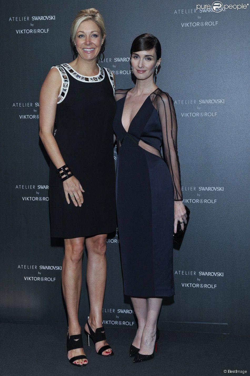 Nadja Swarovski et Paz Vega - Soirée Swarovski et Viktor & Rolf à l'Ecrin lors du 67e Festival international du film de Cannes, le 16 mai 2014