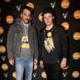 Gringe and Orelsan attending Reebok party held at Villa Schweppes during the 67th Cannes Film Festival in Cannes, France on May 16, 2014. Photo by Jerome Domine/ABACAPRESS.COM18/05/2014 - Cannes
