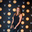 Laure Manaudou à la soirée Reebok sur le bateau de la Villa Schweppes pour les 25 ans de la chaussure Pump lors du Festival de Cannes, le 17 mai 2014