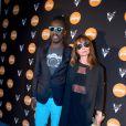 Marco Prince et Axelle Laffont à la soirée Reebok sur le bateau de la Villa Schweppes pour les 25 ans de la chaussure Pump lors du Festival de Cannes, le 17 mai 2014