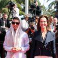 """Membres du jury : Leila Hatami, Carole Bouquet - Montée des marches du film """"Les Merveilles"""" (Le Meraviglie) lors du 67e Festival du film de Cannes le 18 mai 2014"""