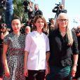 """Membres du jury : Do-yeon Jeon Sofia Coppola et Jane Campion - Montée des marches du film """"Les Merveilles"""" (Le Meraviglie) lors du 67e Festival du film de Cannes le 18 mai 2014"""