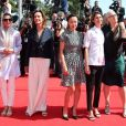 """Membres du jury : Leila Hatami, Carole Bouquet, Do-yeon Jeon Sofia Coppola et Jane Campion - Montée des marches du film """"Les Merveilles"""" (Le Meraviglie) lors du 67e Festival du film de Cannes le 18 mai 2014"""