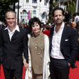 """Marie-José Nat - Montée des marches du film """"Les Merveilles"""" (Le Meraviglie) lors du 67e Festival du film de Cannes le 18 mai 2014"""