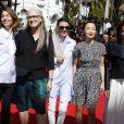 """Membres du jury : Sofia Coppola, Jane Campion, Leila Hatami, Do-yeon Jeon et Carole Bouquet - Montée des marches du film """"Les Merveilles"""" (Le Meraviglie) lors du 67e Festival du film de Cannes le 18 mai 2014"""