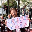 """Viggo Mortensen - Montée des marches du film """"Les Merveilles"""" (Le Meraviglie) lors du 67e Festival du film de Cannes le 18 mai 2014"""