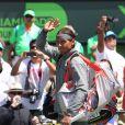 Rafael Nadal avant sa finale du tournoi de Key Biscayne, le 30 mars 2014