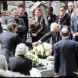 Les obsèques d'Héléna Bossis