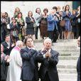 Les obsèques d'Héléna Bossis : Daniel Derès et son fils