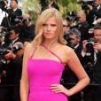 """Lara Stone - Montée des marches du film """"The Search"""" lors du 67 ème Festival du film de Cannes, le 21 mai 2014."""